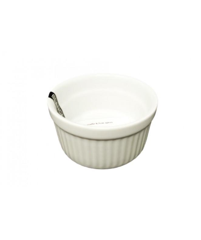 Molde souflé 8.5cm aprox - PORCELANA BLANCA