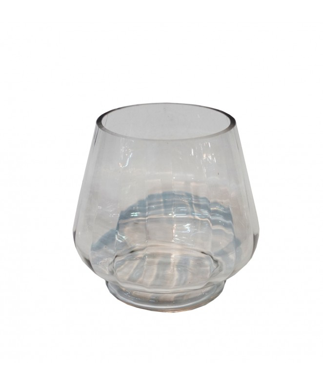 Recipiente ancho de vidrio ...x…cm aprox - BAMBOO