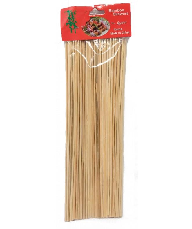 pack 100 palitos madera brochete - DISCONTINUO