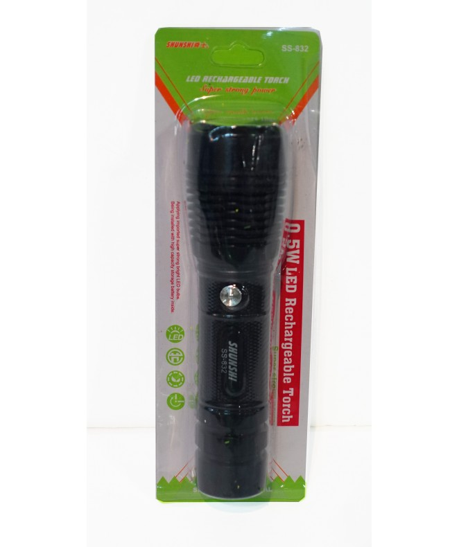 Linterna recargable -1 LED -17cm aprox -