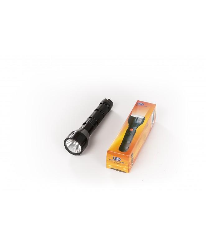 Linterna 1 Led. 18cm. 2 pilas AA no incluídas -