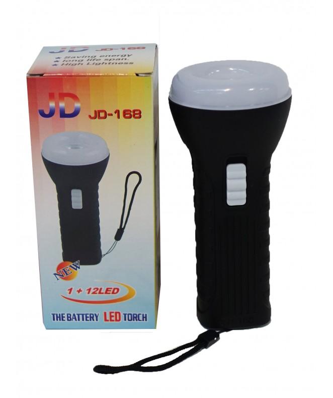 Linterna de mano 1 LED c/colgador-AA no incluídas -
