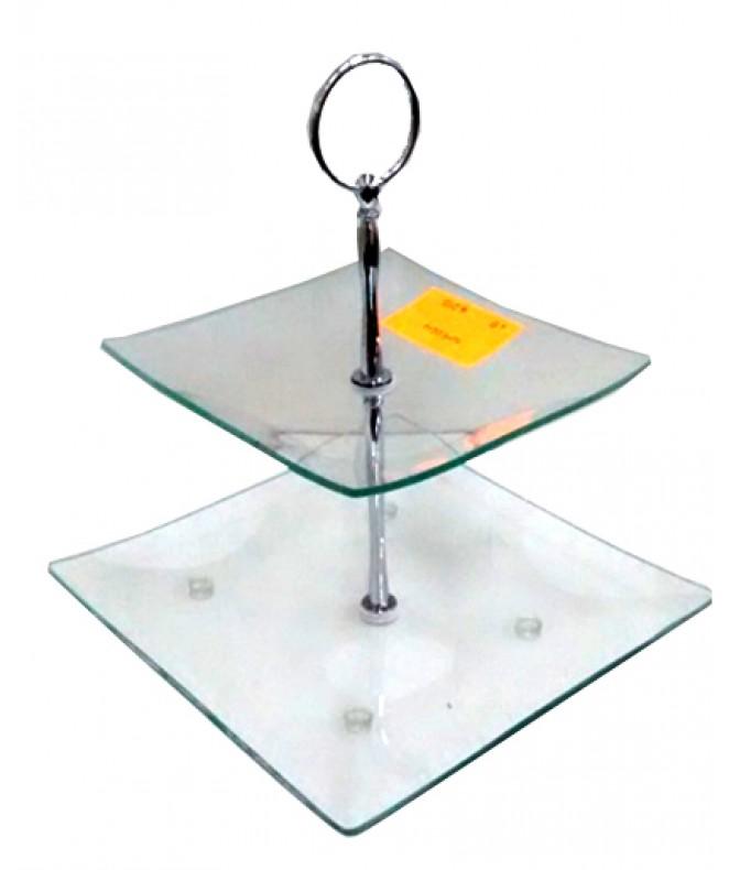 Posa masas vidrio c/2 niv 15 y 20cm - VIDRIO