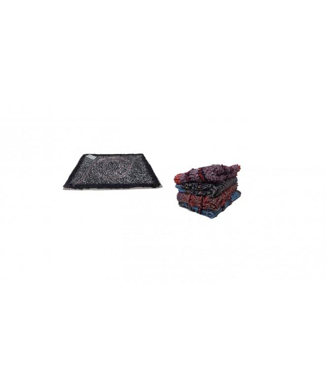 Alfombra de baño c/ diseño central 40x60cm aprox - ALFOMBRAS-