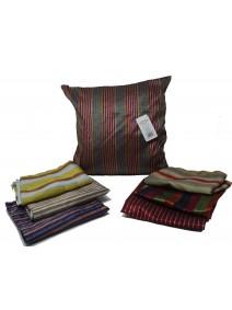 Cubre almohadon multicolor c/ lin y cierre 40x40cm - TEXTIL