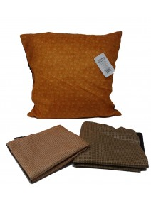 Cubre almohadon c/ caudraditos y cierre 40x40cm ap - TEXTIL