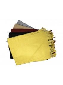 Bufanda c/flecos 180x70cm ap - 6 colores surt - INVIERNO