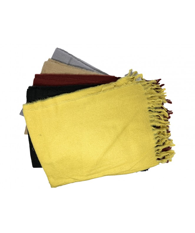 Bufanda c/flecos 180x70cm ap - 6 colores surt - CHALINAS