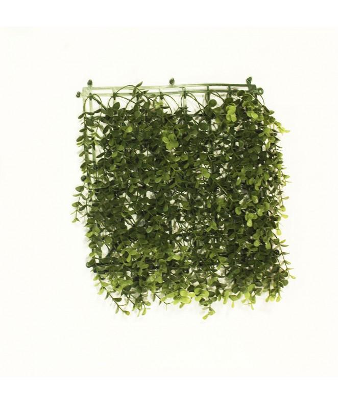 Hojas artificiales p/jardin vertical 25*25cm COLOR - 50 X 50