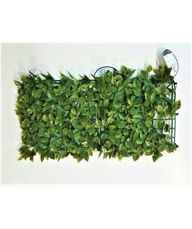 Hojas artificiales p/jardin vertical 25*25cm ROSA - 50 X 50
