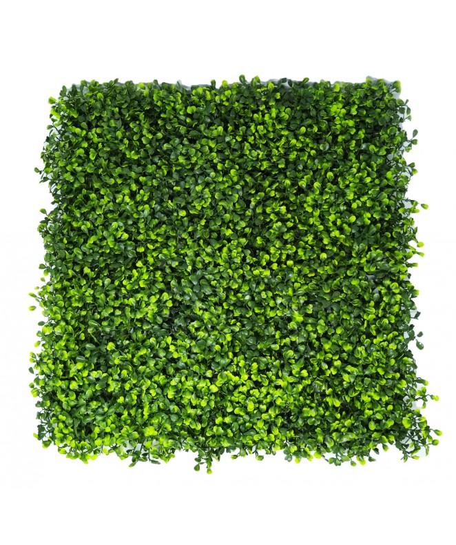 Hojas artificiales p/jardin vertical 50*50cm MADER - 25 X 25