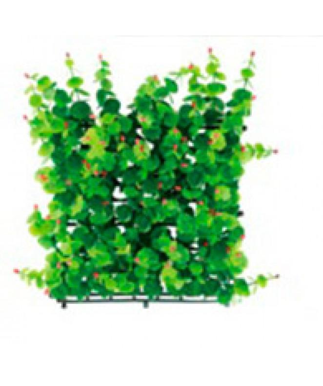 Hojas artificiales p/jardin vertical 50*50cm PENTA - 25 X 25