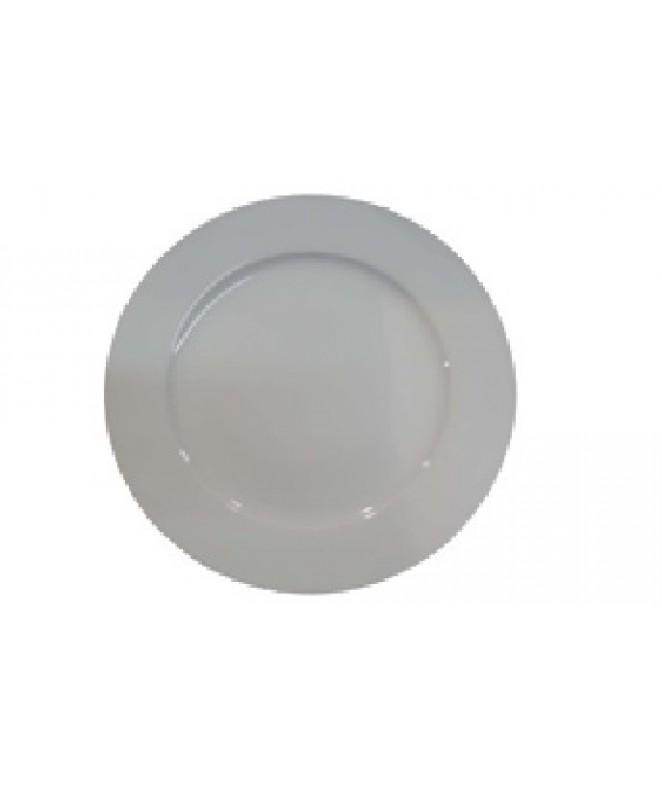 Plato hondo DELTA 22cm ap porcelana bca - PORCELANA BLANCA