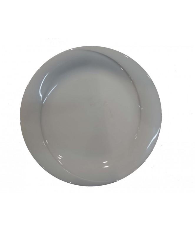 Plato playo X-TAMBUL 27cm ap porcelana bca - PORCELANA BLANCA