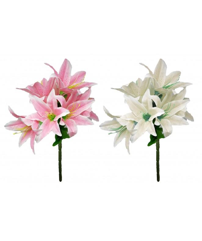 Bouquet con 9 Lilium - 45cm aprox. - BOUQUET