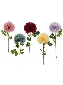 Vara c/ flor redonda 10cm  x 47cm aprox - VARAS