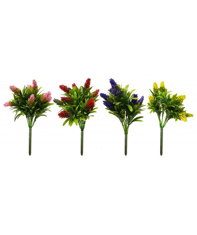 Ramo c/ flores de color 28cm. Aprox - RAMOS