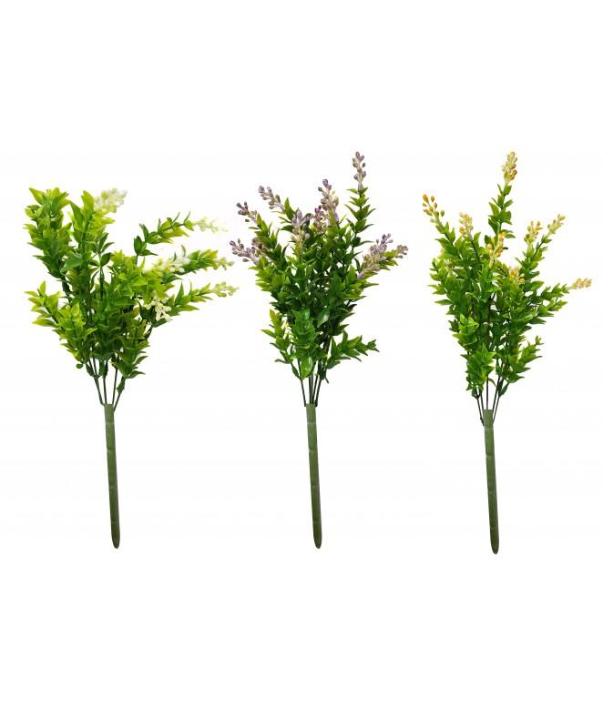 Bouquet c/ flores y hojas 35cm aprox. - BOUQUET