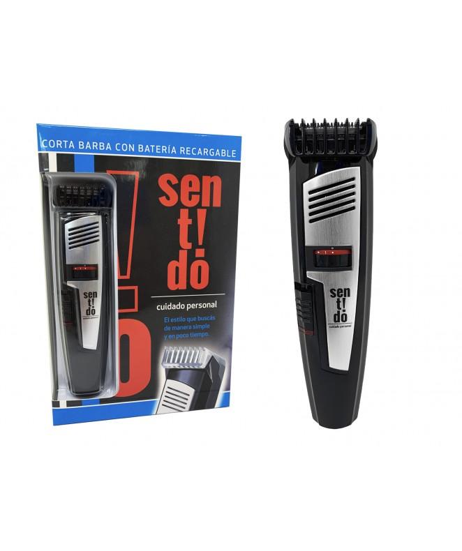 Corta barba con bateria recargable y accesorios - AFEITADORAS MASCULINAS