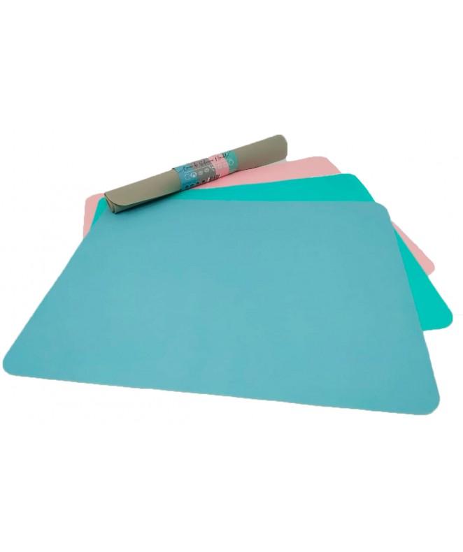 Placa de silicona p/hornear 37.5x29.5cm aprox - MOLDES DE SILICONA