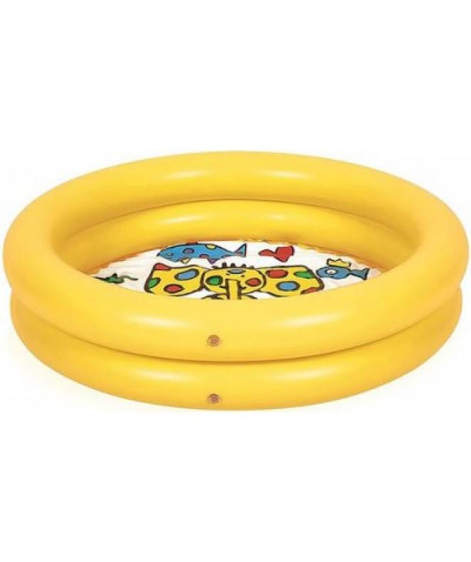 Pileta  infl circular 2 tubos 76x20cm aprox -
