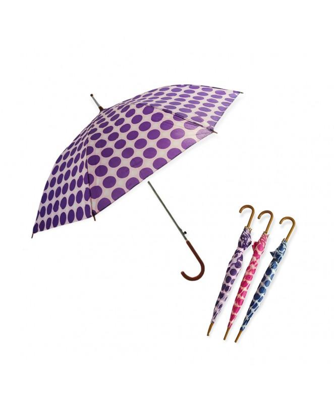 Paraguas aut. estampa a lunares- 53cm aprox - PARAGUAS