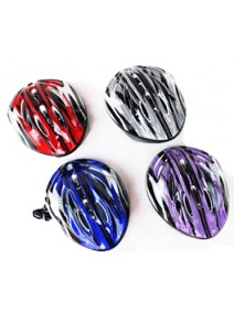 Casco decorado p/ bici/monopatin - 4 colores surt - JUGUETERIA