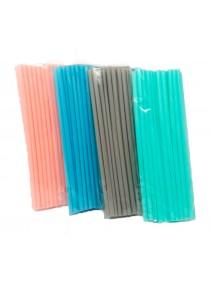 Sorbete plástico 25 unidades- 6x197mm aprox -