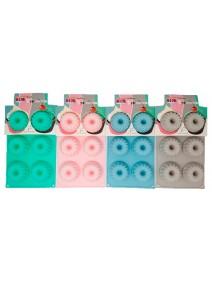 Molde de silicona mini budin x6- 28.5x17.5cm- past - MOLDES DE SILICONA