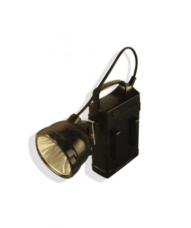 Linterna recargable c/cargador -