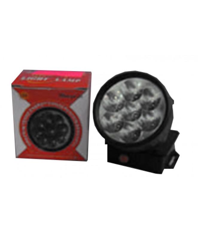Linterna p/cabeza c/7 leds 3 pilas AAA (no inclui -
