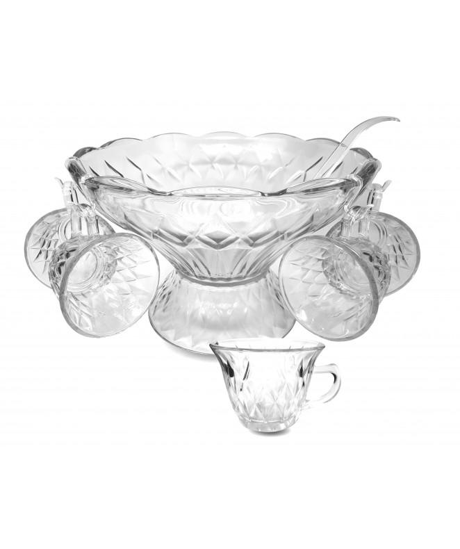 Ponchera 27pcs DIAMOND en caja regalo - DISPENSER Y FRASQUITOS
