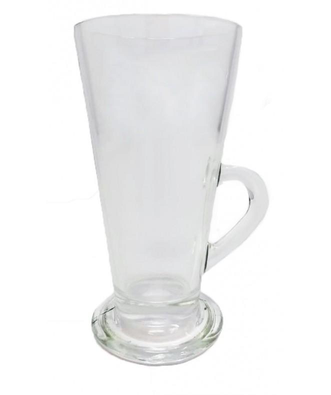 Jarrito irlandés vidrio transparente 320cc aprox - SET DE JUEGOS DE CAFE