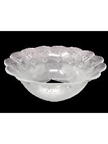 Bowl vidrio deco DIAMOND 13.5cm aprox - ENSALADERAS COMPOTERAS Y BOWL