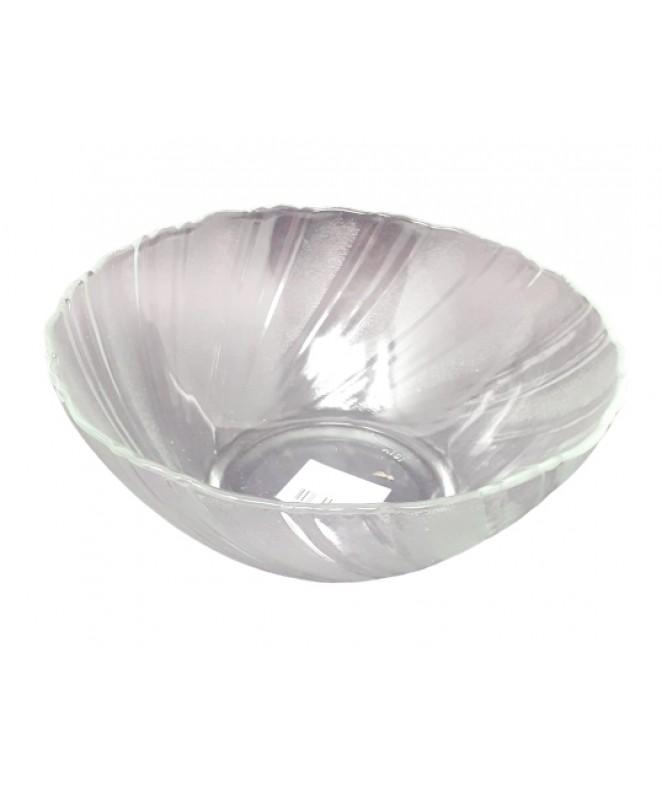 Bowl vidrio deco 21.5cm aprox - ENSALADERAS COMPOTERAS Y BOWL