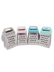Mini rallador 4 usos c/agarre silicona-acero - 7cm - RALLADORES