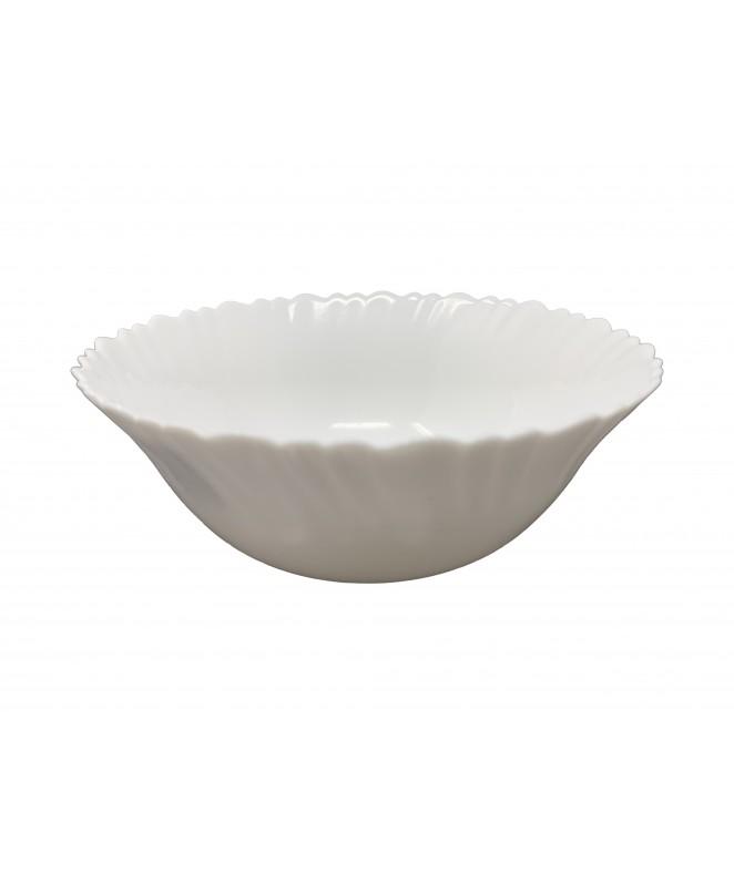 Bowl MADRID 17.5cm aprox- vidrio opalino - LINEA MADRID
