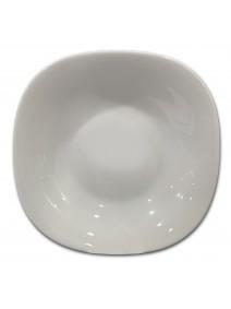 Plato hondo ROMA 22.5cm aprox - vidrio opalino -