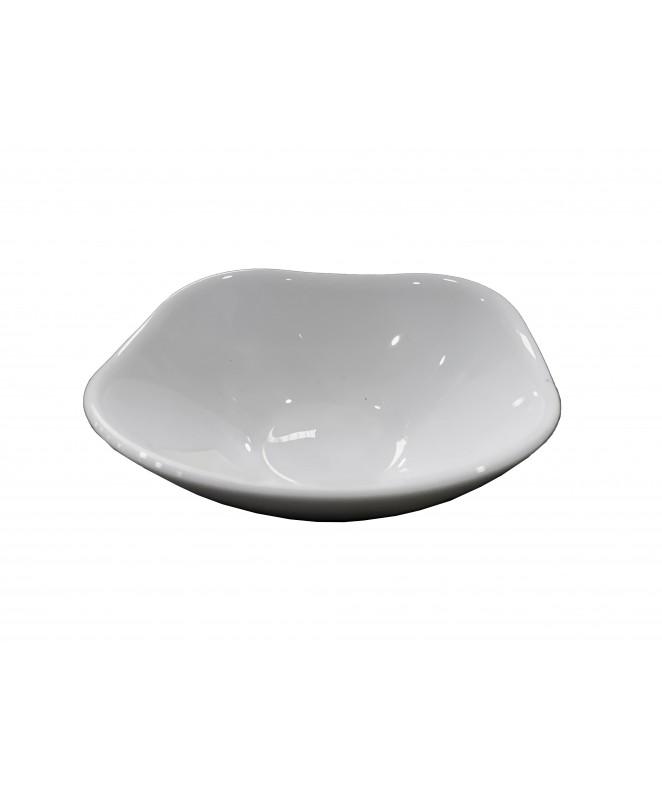 Compotera ROMA 11.5cm aprox- vidrio opalino - LINEA ROMA