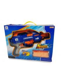CR Pistola lanza ventosas /40*30 aprx - JUGUETERIA