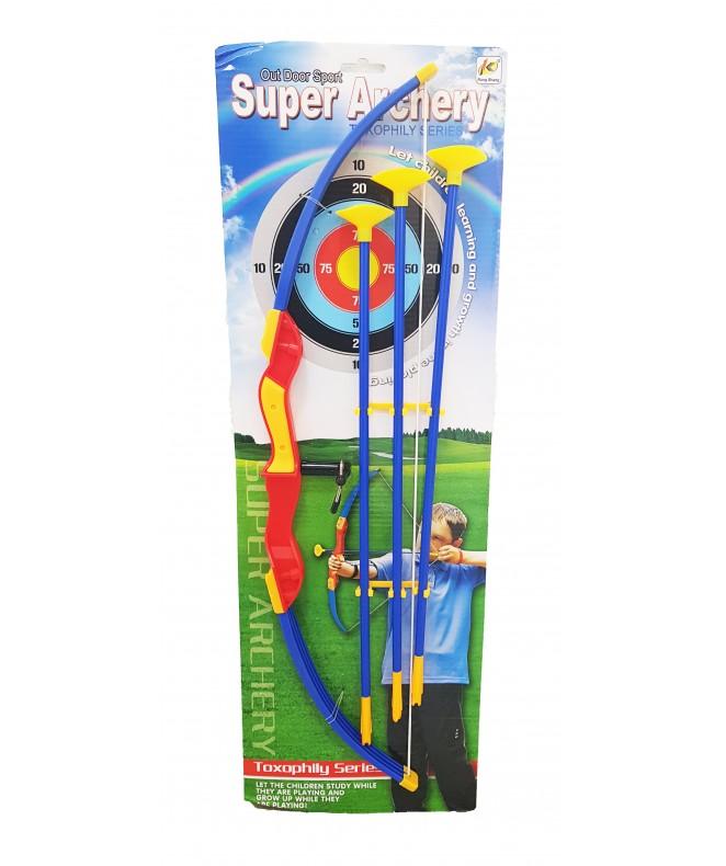 CRD Set de arco y flecha/ 63*20 aprx - JUGUETERIA
