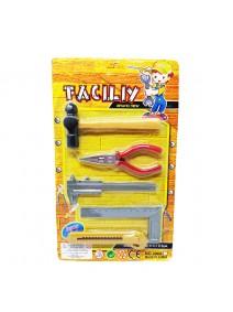 BL Set herramientas construcción 5 pzs 31*19cm apr - JUGUETERIA