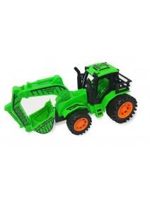 BU Tractor excavador en 3 colores/ 23*12 aprx - JUGUETERIA