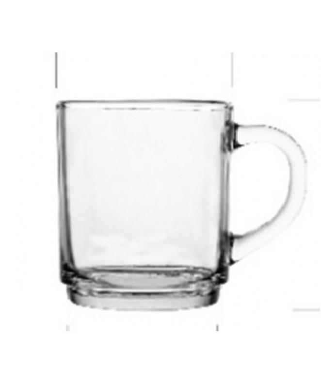 Jarro mug cafe IMPERIAL vidrio 250cc - TAZAS Y JUEGOS DE CAFE