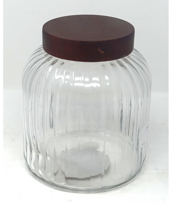Tarro de vidrio -cap 3500cc aprox - FRASCOS