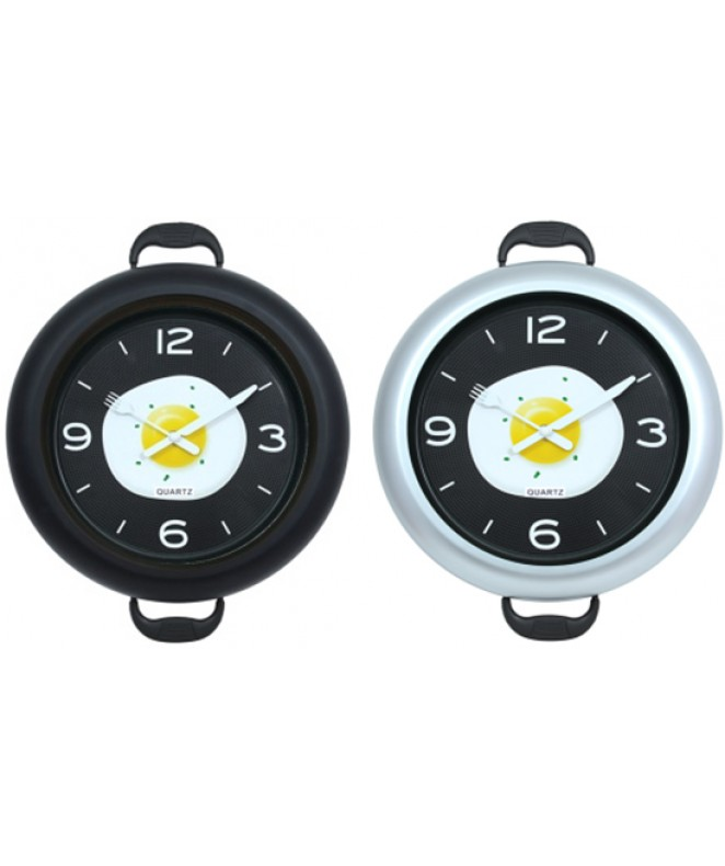 Reloj de pared plastico-30cm -2 mod surtidos - RELOJES
