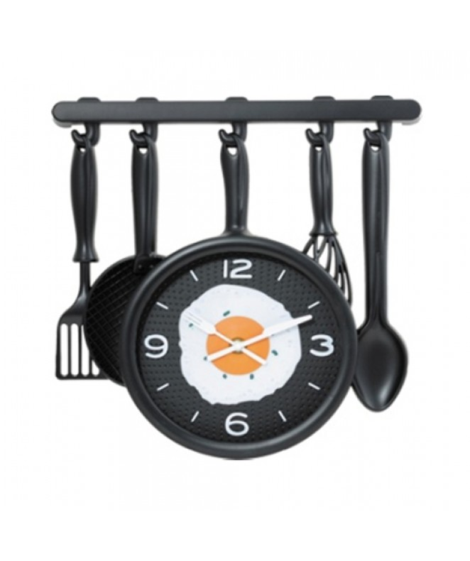 Reloj de pared plastico-33x35cm aprox - RELOJES