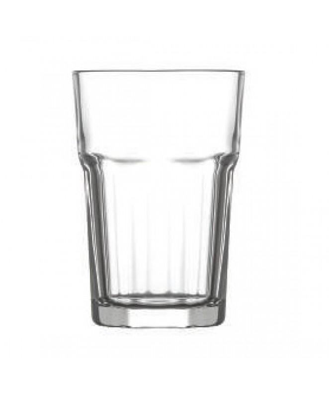 px6 vaso ARAS transparente t/l 260cc aprox - VASOS EN CAJA DE REGALO