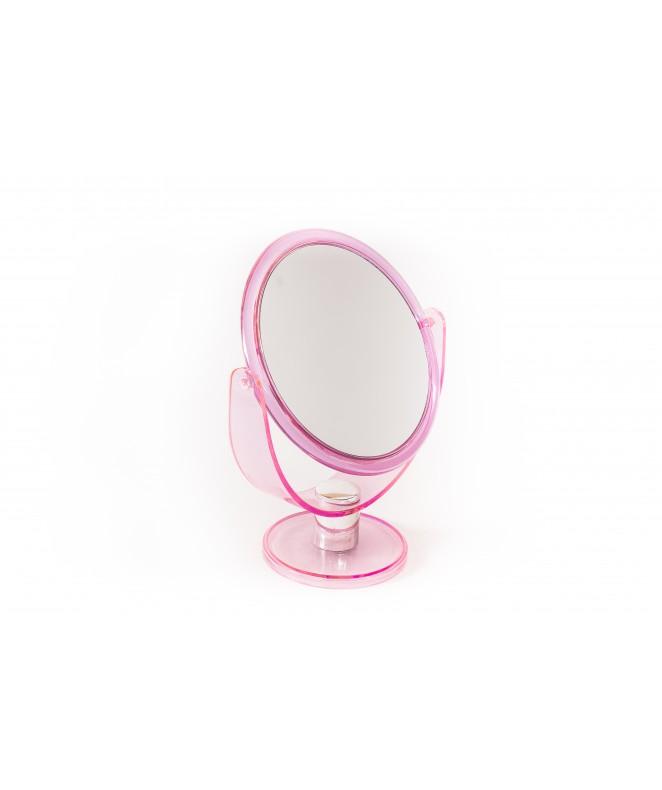 espejo doble faz red con pie 17x14cm  h - ESPEJOS-