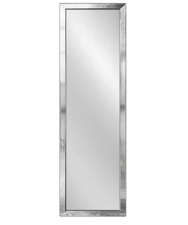 Espejo c/marco osc simil metal 35x125x1.5cm aprox - ESPEJOS-